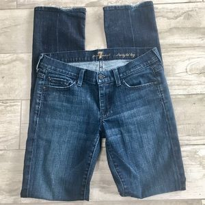 Seven 7 For All Mankind Jeans EUC Size 26